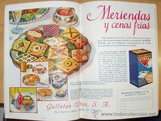Libros antiguos: MENAJE - MENAGE (Revista del Arte de la Cocina y Pasteleria Modernas) PRIMER AÑO COMPLETO 1931 - Foto 13 - 40562159