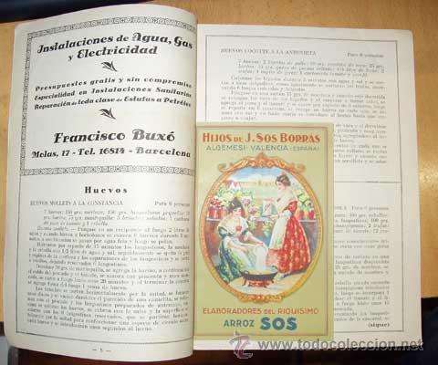 Libros antiguos: MENAJE - MENAGE (Revista del Arte de la Cocina y Pasteleria Modernas) PRIMER AÑO COMPLETO 1931 - Foto 14 - 40562159