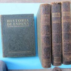 Libros antiguos: HISTORIA DE ESPAÑA. GRAN HISTORIA GENERAL DE LOS PUEBLOS HISPANOS. TOMOS SUELTOS. INSTITUTO GALLACH. Lote 40572693