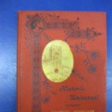 Libros antiguos: HISTORIA UNIVERSAL. FEDERICO SCHWARTZ. LA EDAD MEDIA. M.VERGES BARCELONA 1917.. Lote 40612389