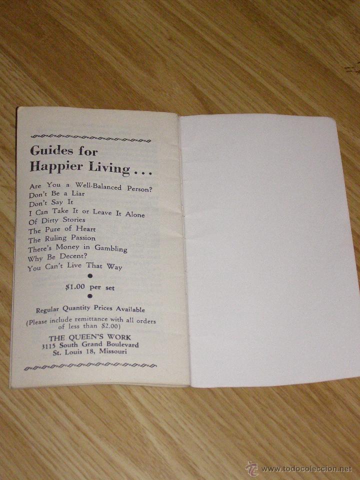 Libros antiguos: Curioso Librillo de 1929 - Marry your own - - Foto 4 - 40623999