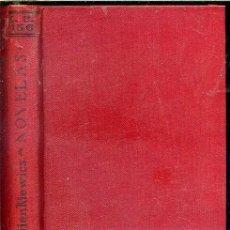 Libros antiguos: SIENCKIEWICZ : NOVELAS (CALPE, 1921). Lote 40659123