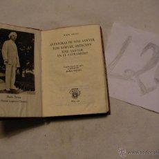 Libros antiguos: ANTIGUO LIBRO COLECCION CRISOL - AVENTURAS DE TOM SAWYER/DETECTIVE/EN EL EXTRANJERO - MARK TWAIN. Lote 40687401