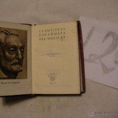 Libros antiguos: ANTIGUO LIBRO COLECCION CRISOL - CUENTISTAS ESPAÑOLES DEL SIGLO XX. Lote 40687426