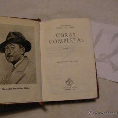 Libros antiguos: ANTIGUO LIBRO COLECCION CRISOL - OBRAS COMPLETAS I - WENCESLAO FERNANDEZ FLOREZ . Lote 40687486
