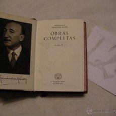 Libros antiguos: ANTIGUO LIBRO COLECCION CRISOL - OBRAS COMPLETAS IV - WENCESLAO FERNANDEZ FLOREZ . Lote 40687497