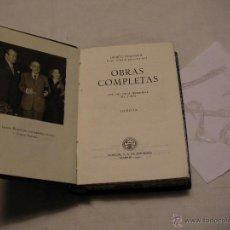 Libros antiguos: ANTIGUO LIBRO COLECCION CRISOL - OBRAS COMPLETAS IX - JACINTO BENAVENTE. Lote 40687757
