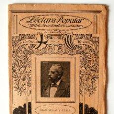 """Libros antiguos: BIBLIOTECA D'AUTORS CATALANS """"ENDAVANT LES ATXES"""" DE JOAN MOLAS Y CASAS . Lote 40688205"""