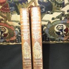 Libros antiguos: HISTORIA DE LA SOCIEDAD DOMESTICA EN TODOS LOS PUEBLOS ANTIGUOS Y MODERNOS O INFLUENCIA DEL CRISTIA. Lote 40691588
