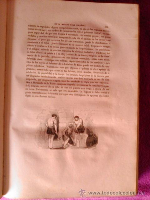 Libros antiguos: HISTORIA DE LA MARINA REAL ESPAÑOLA. D. JOSE MARCH Y LABORES 1854-1856 - Foto 9 - 40715989