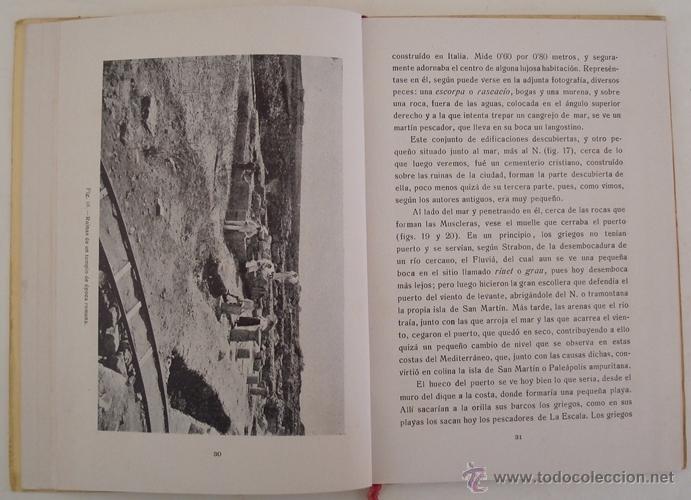 Libros antiguos: GUÍA ILUSTRADA DE LAS RUINAS DE AMPURIAS Y COSTA BRAVA CATALANA MANUEL CAZURRO - Foto 5 - 40737070