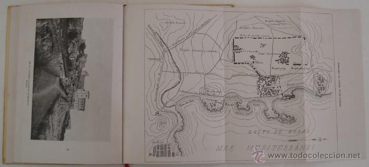 Libros antiguos: GUÍA ILUSTRADA DE LAS RUINAS DE AMPURIAS Y COSTA BRAVA CATALANA MANUEL CAZURRO - Foto 6 - 40737070