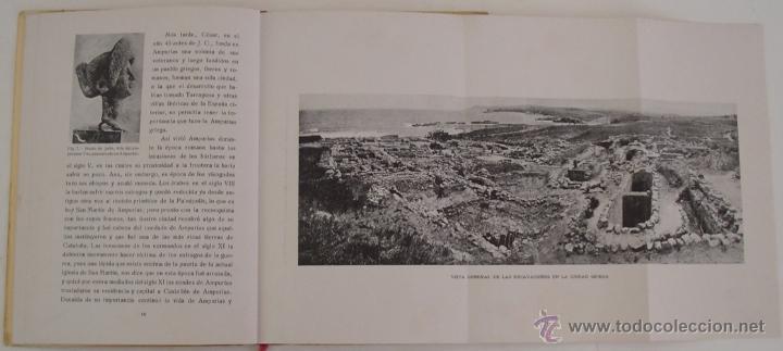 Libros antiguos: GUÍA ILUSTRADA DE LAS RUINAS DE AMPURIAS Y COSTA BRAVA CATALANA MANUEL CAZURRO - Foto 10 - 40737070