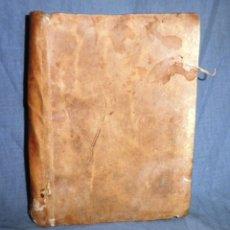 Libros antiguos: VIDA, DICHOS Y CONSTITUCIONES DE S.PHELIPE NERI FLORENTIN - AÑO 1734 - EDICION ORIGINAL EN PERGAMINO. Lote 40789255