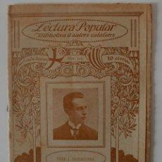 "Libros antiguos: BIBLIOTECA D'AUTORS CATALANS ""POESIES"" PERE J. BASSEGODA (EL MASNOU) . Lote 40798496"