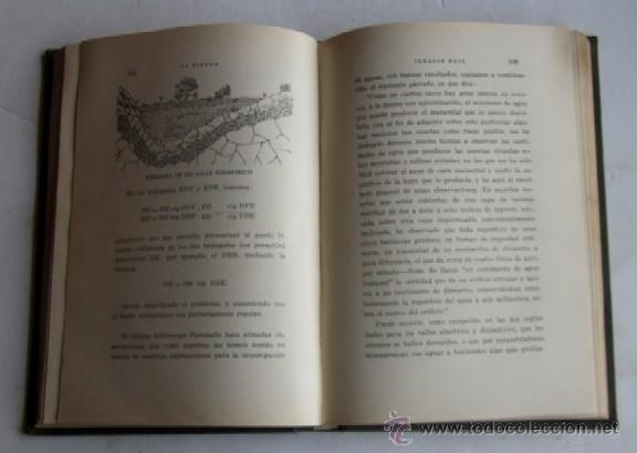 Libros antiguos: LA TIERRA Y SUS AGUAS OCULTAS - IGNACIO RUIZ - AÑO 1935 - Foto 4 - 40816637