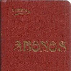 Libros antiguos: ABONOS NATURALES Y ARTIFICIALES. A.B. GRIFFITHS. HIJOS DE CUESTA. MADRID. 1908. Lote 40818027