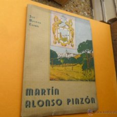 Libros antiguos: LIBRO DE MARTIN ALONSO PINZON. Lote 40842806