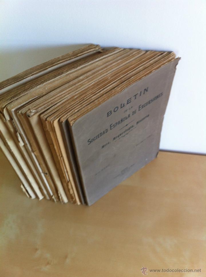 Libros antiguos: BOLETÍN DE LA SOCIEDAD ESPAÑOLA DE EXCURSIONES. 10 TOMOS. ENTRE 1924 Y 1946. HAUSER Y MENET. - Foto 4 - 40903018