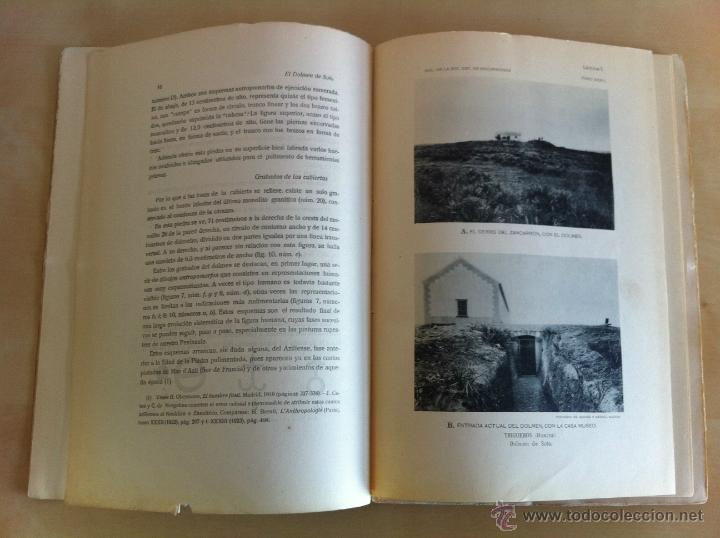 Libros antiguos: BOLETÍN DE LA SOCIEDAD ESPAÑOLA DE EXCURSIONES. 10 TOMOS. ENTRE 1924 Y 1946. HAUSER Y MENET. - Foto 8 - 40903018