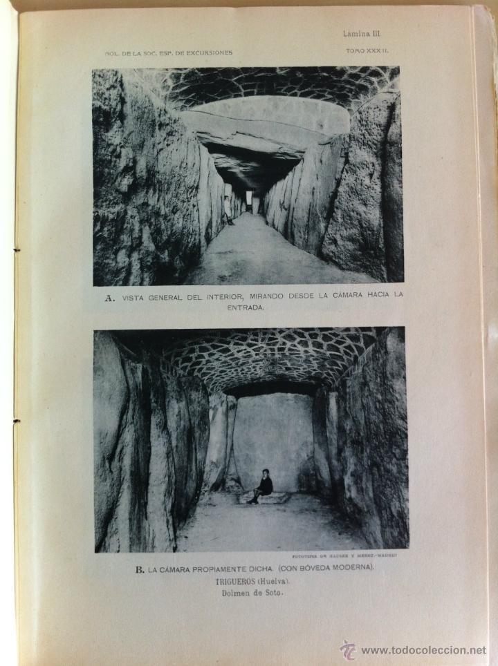 Libros antiguos: BOLETÍN DE LA SOCIEDAD ESPAÑOLA DE EXCURSIONES. 10 TOMOS. ENTRE 1924 Y 1946. HAUSER Y MENET. - Foto 9 - 40903018