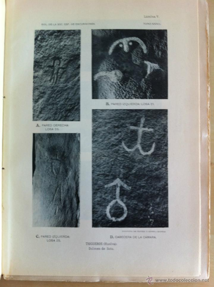 Libros antiguos: BOLETÍN DE LA SOCIEDAD ESPAÑOLA DE EXCURSIONES. 10 TOMOS. ENTRE 1924 Y 1946. HAUSER Y MENET. - Foto 10 - 40903018