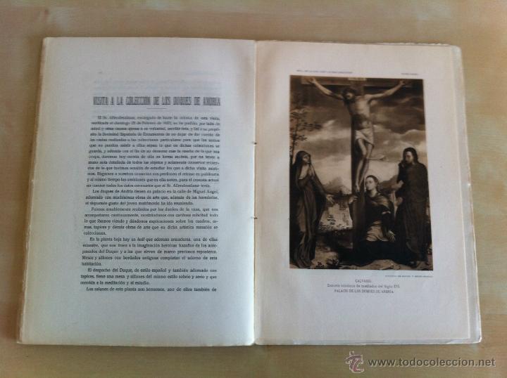 Libros antiguos: BOLETÍN DE LA SOCIEDAD ESPAÑOLA DE EXCURSIONES. 10 TOMOS. ENTRE 1924 Y 1946. HAUSER Y MENET. - Foto 13 - 40903018