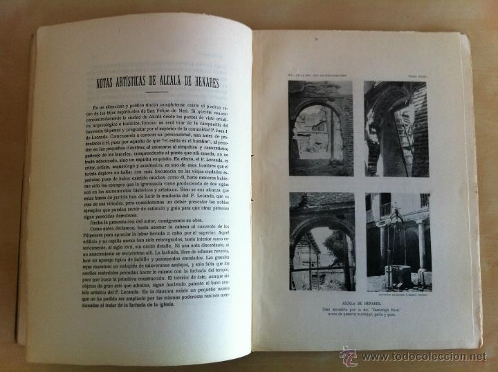 Libros antiguos: BOLETÍN DE LA SOCIEDAD ESPAÑOLA DE EXCURSIONES. 10 TOMOS. ENTRE 1924 Y 1946. HAUSER Y MENET. - Foto 17 - 40903018
