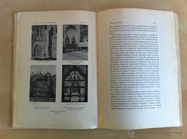 Libros antiguos: BOLETÍN DE LA SOCIEDAD ESPAÑOLA DE EXCURSIONES. 10 TOMOS. ENTRE 1924 Y 1946. HAUSER Y MENET. - Foto 18 - 40903018