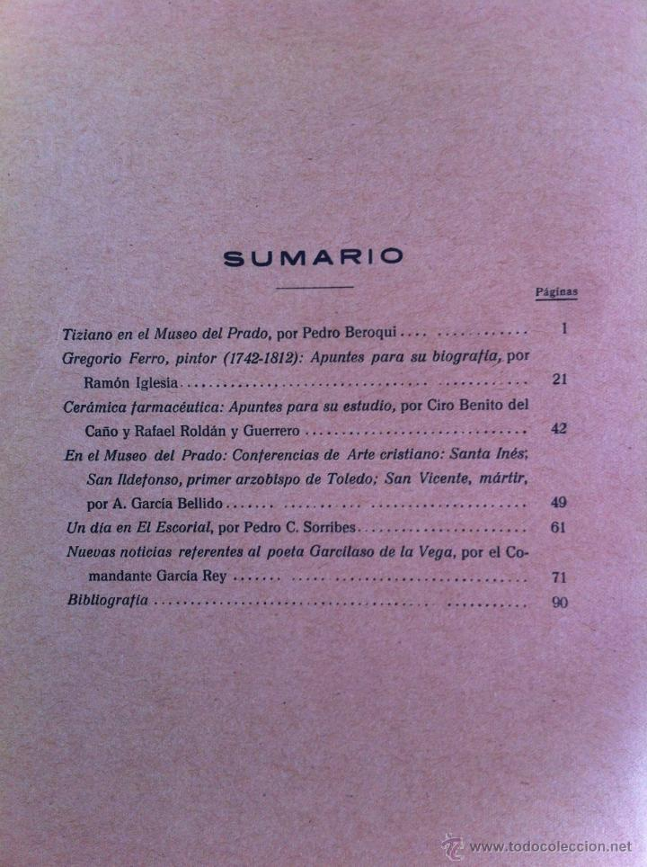 Libros antiguos: BOLETÍN DE LA SOCIEDAD ESPAÑOLA DE EXCURSIONES. 10 TOMOS. ENTRE 1924 Y 1946. HAUSER Y MENET. - Foto 20 - 40903018
