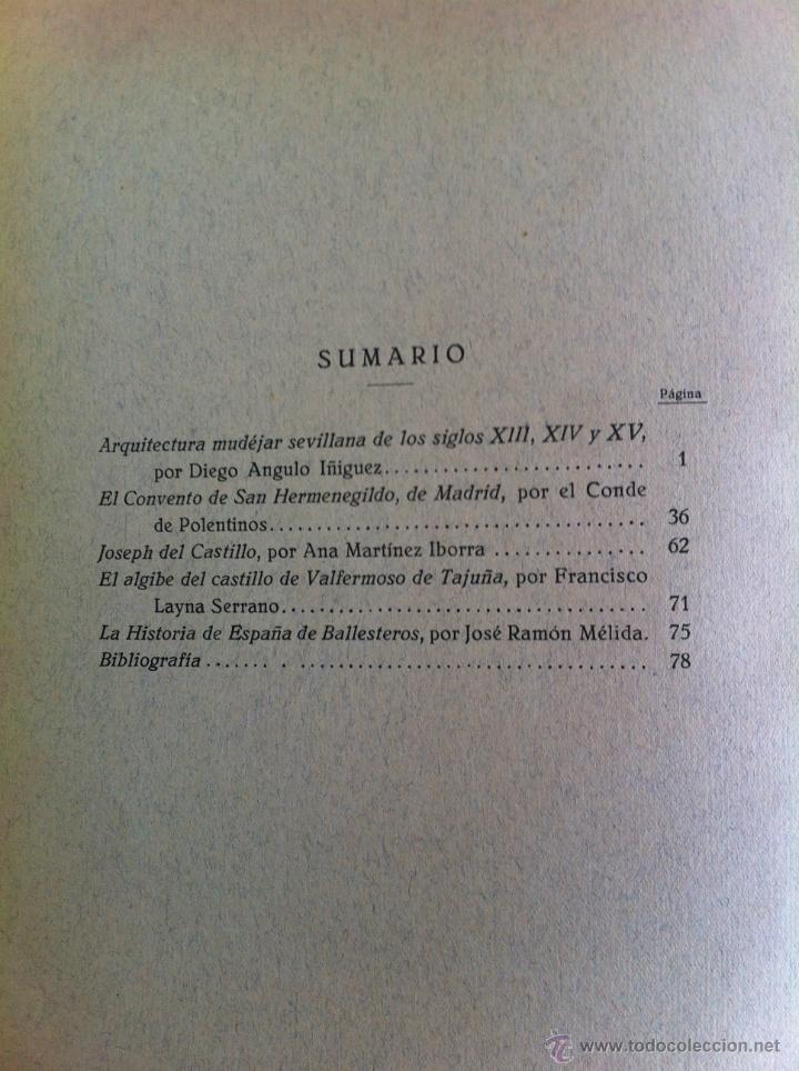Libros antiguos: BOLETÍN DE LA SOCIEDAD ESPAÑOLA DE EXCURSIONES. 10 TOMOS. ENTRE 1924 Y 1946. HAUSER Y MENET. - Foto 24 - 40903018