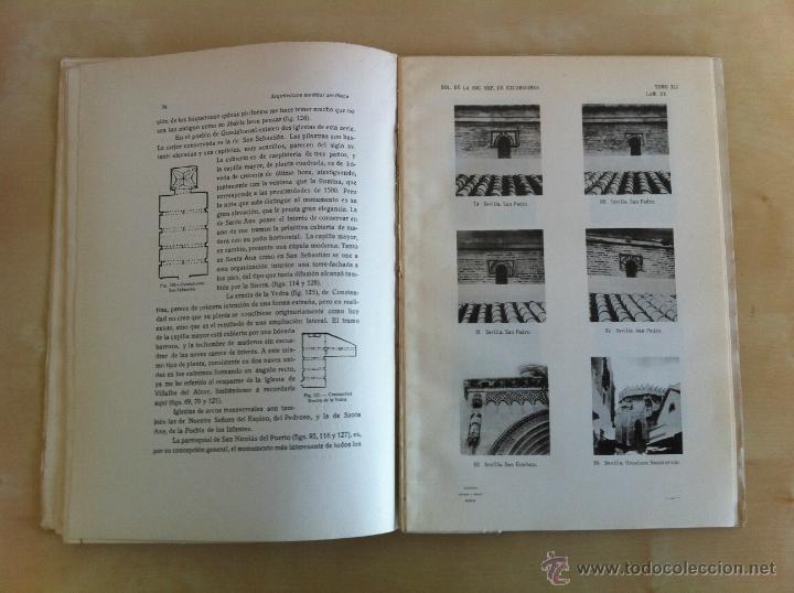 Libros antiguos: BOLETÍN DE LA SOCIEDAD ESPAÑOLA DE EXCURSIONES. 10 TOMOS. ENTRE 1924 Y 1946. HAUSER Y MENET. - Foto 26 - 40903018