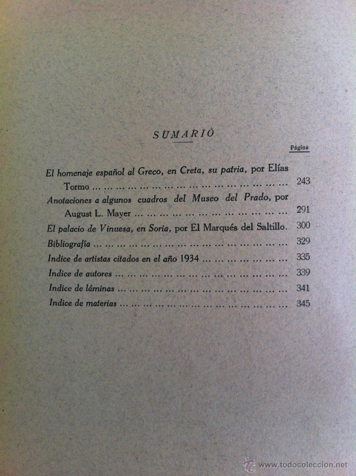 Libros antiguos: BOLETÍN DE LA SOCIEDAD ESPAÑOLA DE EXCURSIONES. 10 TOMOS. ENTRE 1924 Y 1946. HAUSER Y MENET. - Foto 29 - 40903018