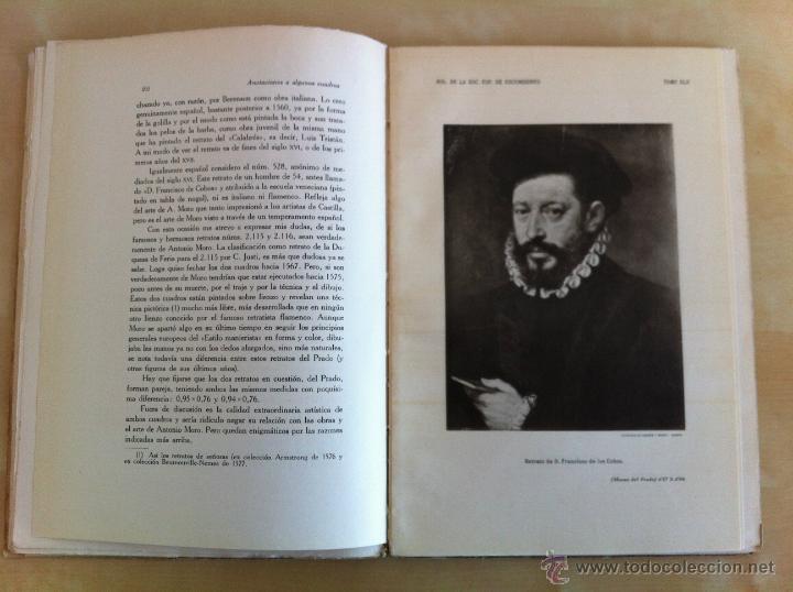 Libros antiguos: BOLETÍN DE LA SOCIEDAD ESPAÑOLA DE EXCURSIONES. 10 TOMOS. ENTRE 1924 Y 1946. HAUSER Y MENET. - Foto 32 - 40903018