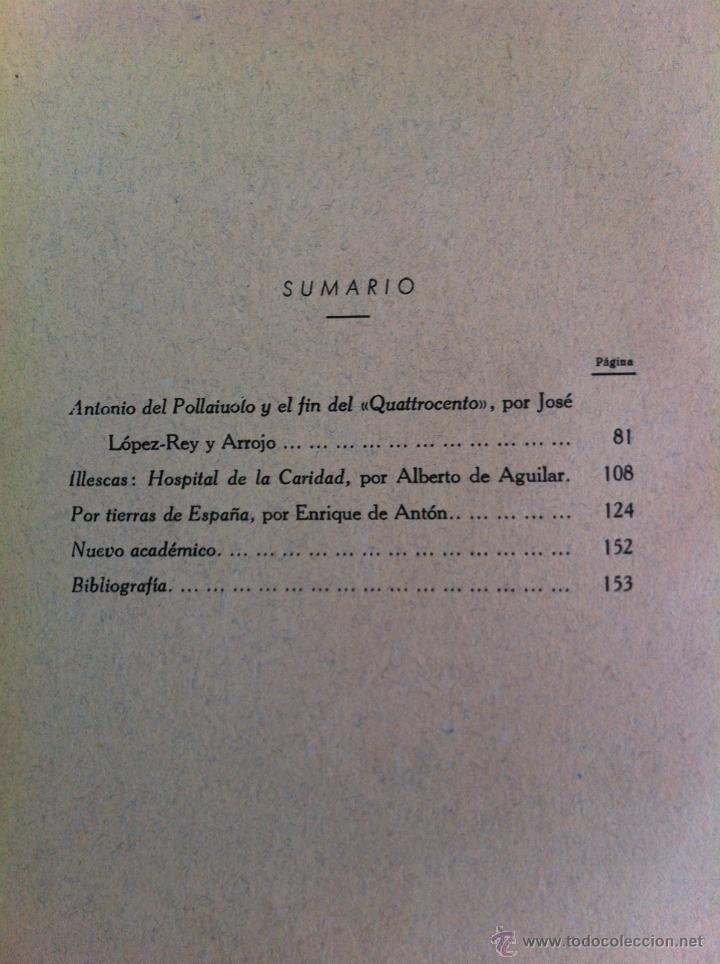 Libros antiguos: BOLETÍN DE LA SOCIEDAD ESPAÑOLA DE EXCURSIONES. 10 TOMOS. ENTRE 1924 Y 1946. HAUSER Y MENET. - Foto 35 - 40903018