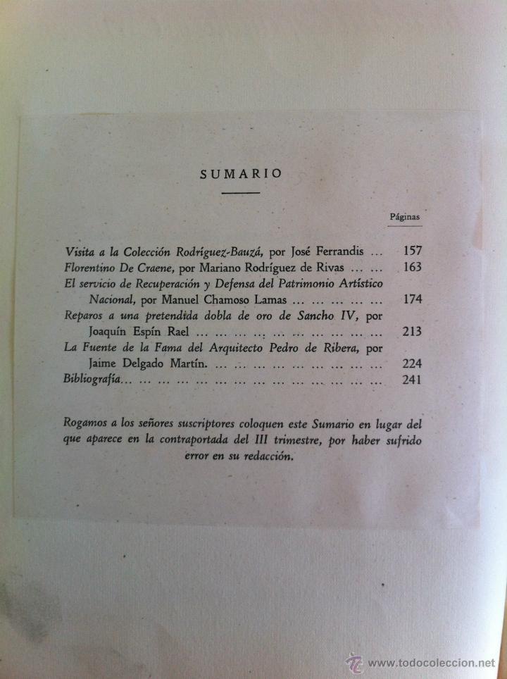 Libros antiguos: BOLETÍN DE LA SOCIEDAD ESPAÑOLA DE EXCURSIONES. 10 TOMOS. ENTRE 1924 Y 1946. HAUSER Y MENET. - Foto 38 - 40903018