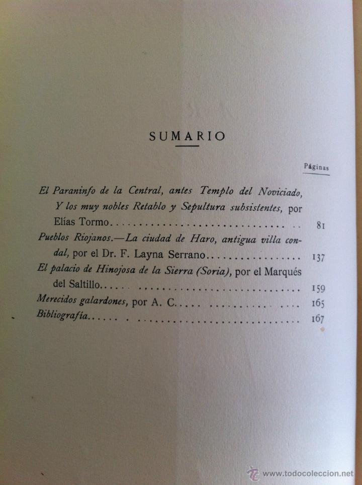 Libros antiguos: BOLETÍN DE LA SOCIEDAD ESPAÑOLA DE EXCURSIONES. 10 TOMOS. ENTRE 1924 Y 1946. HAUSER Y MENET. - Foto 46 - 40903018