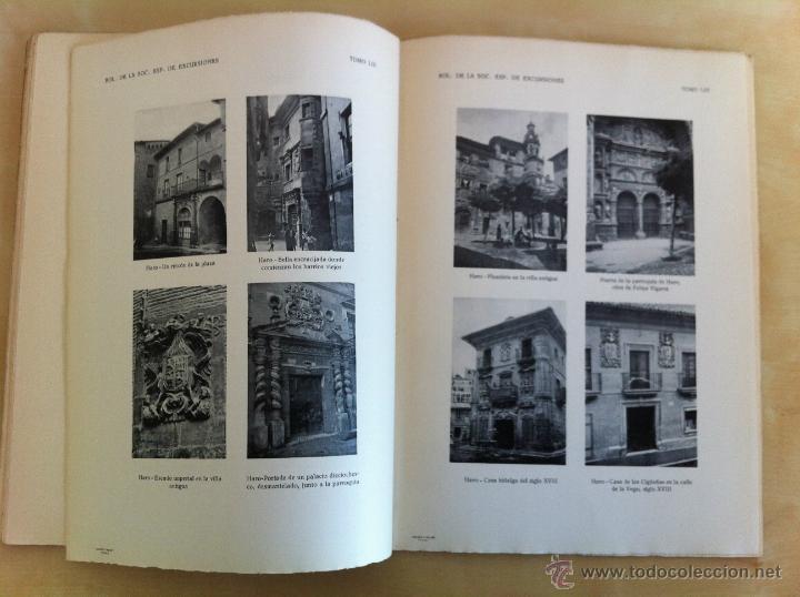 Libros antiguos: BOLETÍN DE LA SOCIEDAD ESPAÑOLA DE EXCURSIONES. 10 TOMOS. ENTRE 1924 Y 1946. HAUSER Y MENET. - Foto 48 - 40903018