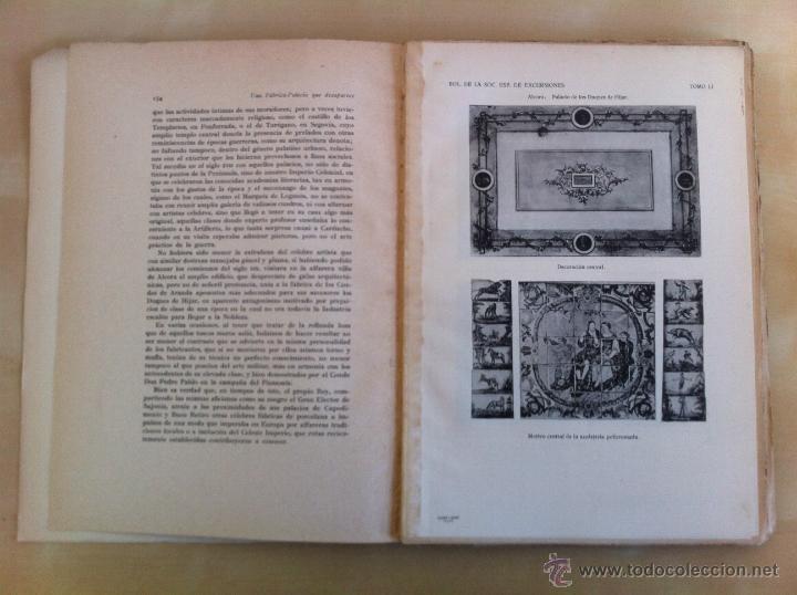 Libros antiguos: BOLETÍN DE LA SOCIEDAD ESPAÑOLA DE EXCURSIONES. 10 TOMOS. ENTRE 1924 Y 1946. HAUSER Y MENET. - Foto 52 - 40903018