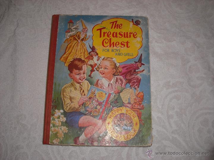 THE TREASURE CHEST FOR BOYS AND GIRLS (Libros Antiguos, Raros y Curiosos - Otros Idiomas)