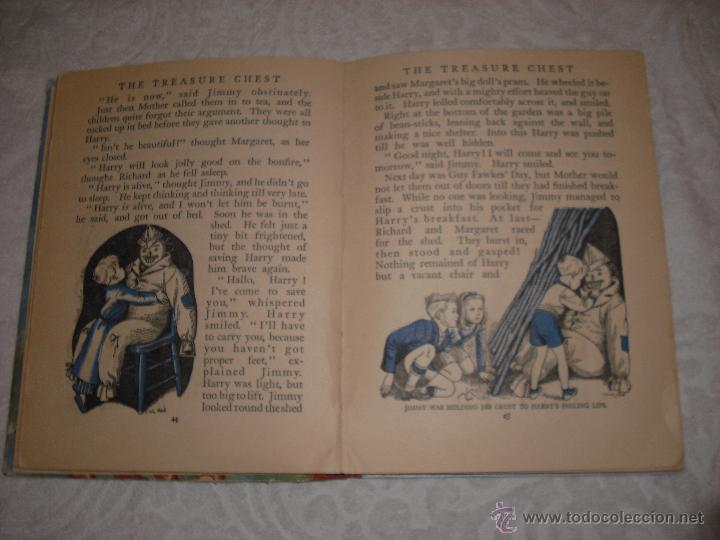 Libros antiguos: THE TREASURE CHEST FOR BOYS AND GIRLS - Foto 2 - 40911422