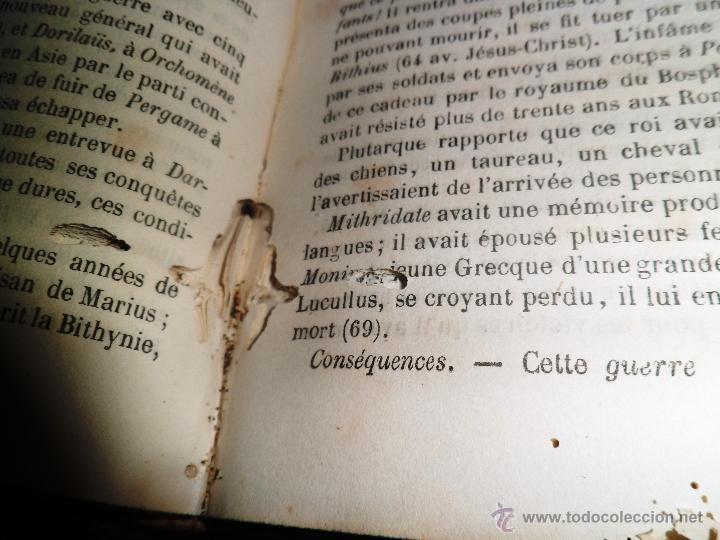 Libros antiguos: NOVEAUX ELÉMENTS D´HISTORIE GÉNÉRALE. PAR D. LÉVI (ALVARÈS) - Foto 4 - 40962789