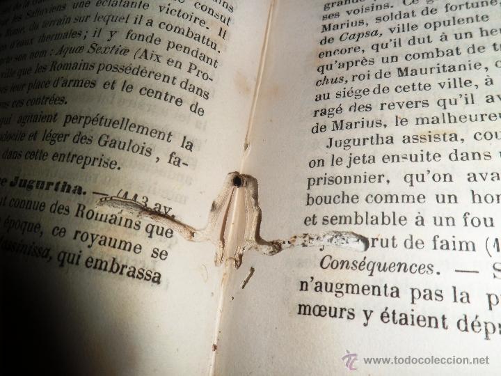 Libros antiguos: NOVEAUX ELÉMENTS D´HISTORIE GÉNÉRALE. PAR D. LÉVI (ALVARÈS) - Foto 5 - 40962789