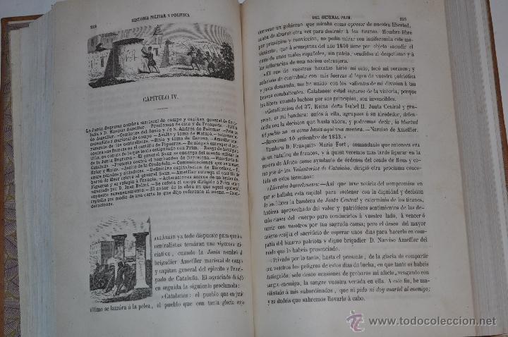 Libros antiguos: Historia Militar y Política del General Don Juan Prim. D. FRANCISCO GIMÉNEZ Y GUITED RM64115-V - Foto 2 - 40989210