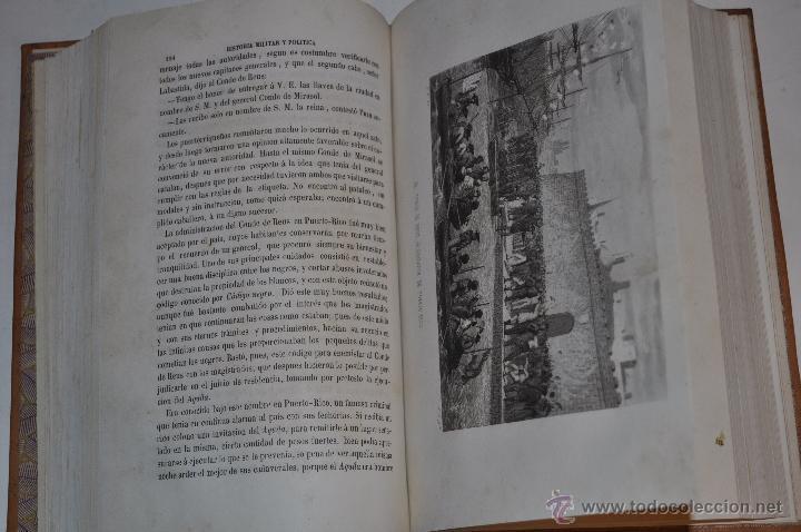 Libros antiguos: Historia Militar y Política del General Don Juan Prim. D. FRANCISCO GIMÉNEZ Y GUITED RM64115-V - Foto 3 - 40989210