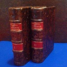 Libros antiguos: MIGUEL DE CERVANTES. EL INGENIOSO HIDALGO DON QUIJOTE DE LA MANCHA PARIS 1832 MINIATURA DIDOT. Lote 41010868
