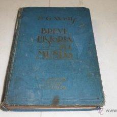 Libros antiguos: H.G.WELLS, BREVE HISTORIA DEL MUNDO, ED. M. AGUILAR. . Lote 41123302