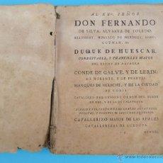 Libros antiguos: GUERRAS DE FLANDES. FAMIANO ESTRADA. TOMO PRIMERO. EN AMBERES, POR MARCOS MIGUEL BOUSQUET, 1749.. Lote 41158603