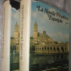 Libros antiguos: LA NOVELA PICARESCA ESPAÑOLA. AGUILAR.DOS TOMOS.EXCELENTE ESTADO. Lote 41214885