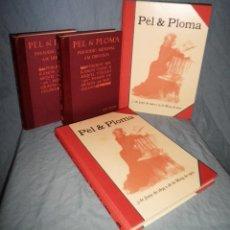 Libros antiguos: PEL & PLOMA · QUATRE GATS - RAMON CASAS Y MIQUEL UTRILLO - AÑOS 1899-1903.BELLOS GRABADOS.. Lote 41221010